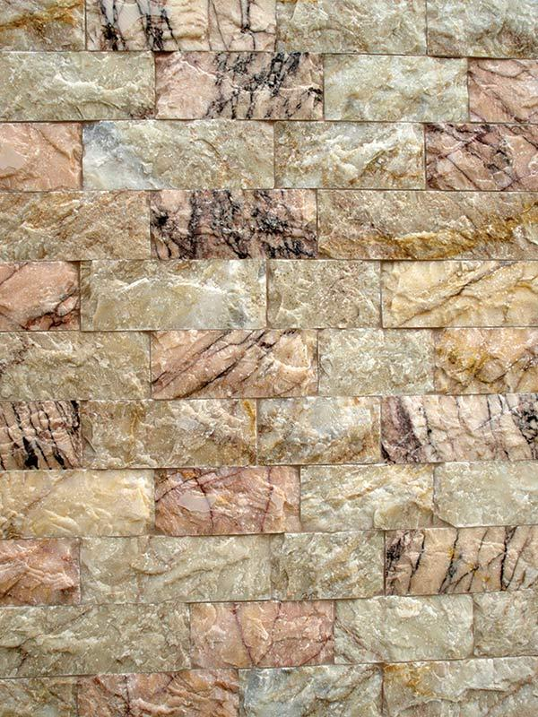 Μάρμαρο Βόλου σκαπιτσαριστό - Φυσικά Πετρώματα