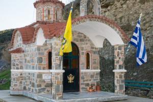 Κατασκευή πετρόχτιστου ναΐσκου στα Λαγινά Θεσσαλονίκης