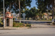 Εκκλησάκι στο Λαγκαδά στο στρατόπεδο Παύλου Μελά στη θεσσαλονίκη