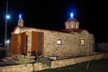 Ο Ιερός Ναός Αγ. Δημητρίου στο Ζυγό Δράμας, κατασκευασμένος από τη Batzolis Θυρε