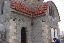 Κατασκευή πέτρινης προκατασκευασμένης εκκλησίας 60μ²