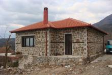 Κατασκευή πέτρινου σπιτιού στην Κόνιτσα