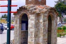 Κατασκευή ναΐσκου στην πλατεία Επταλόφου Θεσσαλονίκης